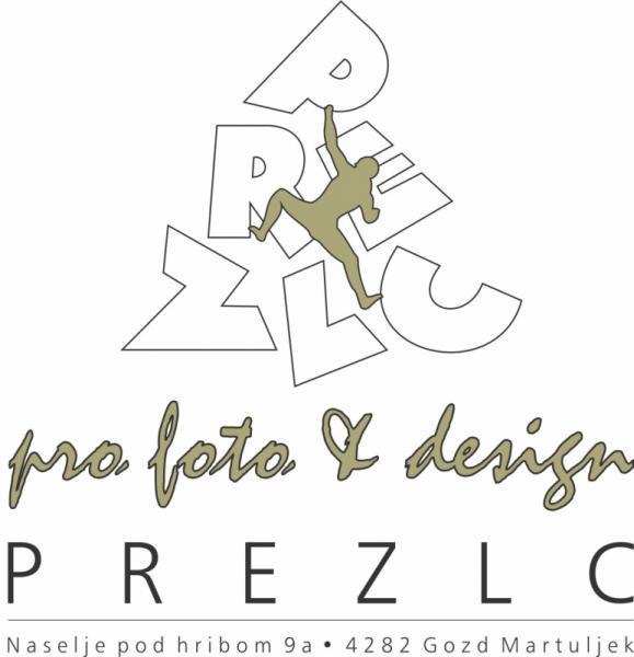 Prezlc d.o.o., grafično oblikovanje, tisk in fotografija