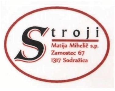 Stroji, obnova in vzdrževanje, Matija Mihelič s.p.
