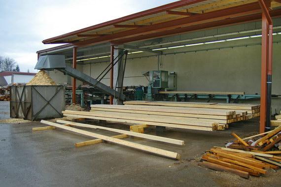 Izdelava lesene embalaže in razrez lesa, Mitja Potočnik s.p.
