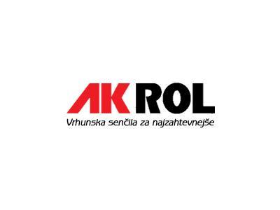Akrol, proizvodnja in montaža senčil