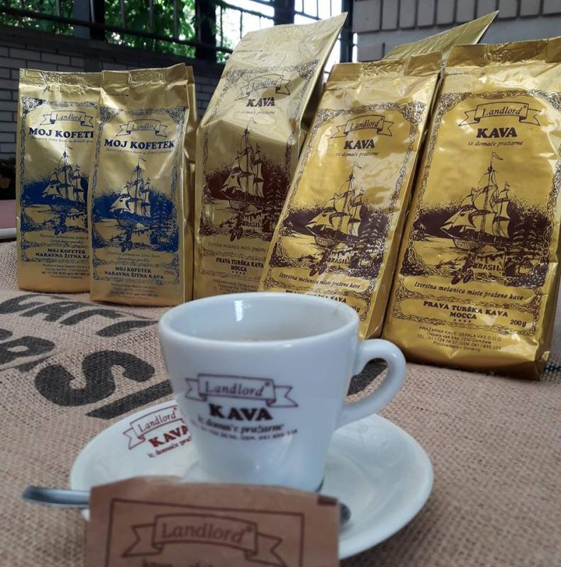 Landlord kava, pražarna kave