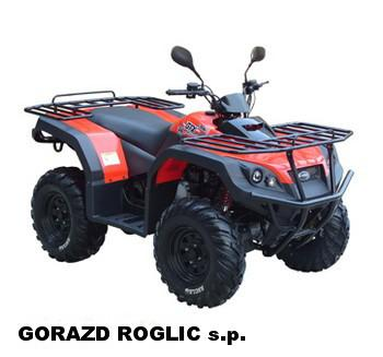Največja ponudba ATV, QUAD, Štirikolesnikov na enem mestu, Gorazd Roglič s.