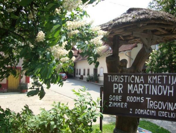 Turistična kmetija Pr Martinovh