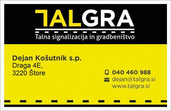 Talgra, talna signalizacija in gradbeništvo