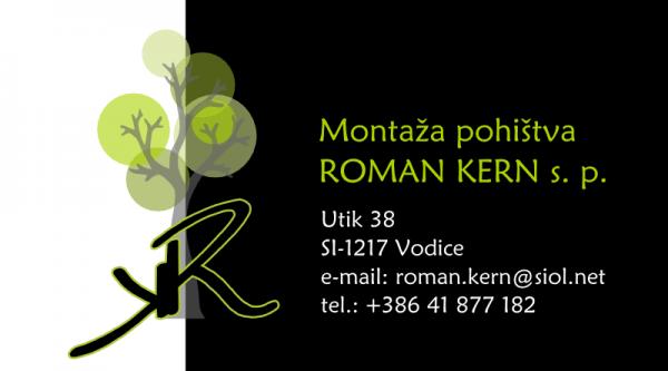 Montaža pohištva Roman Kern s.p.