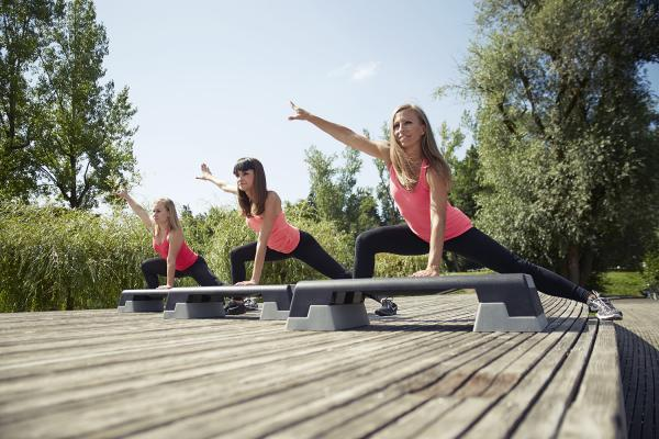Tin šport, aerobika in druge vadbe