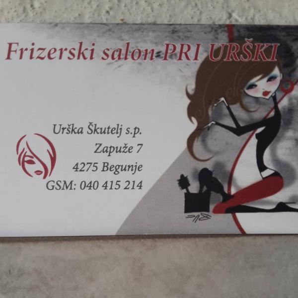 Frizerski salon pri Urški, Urška Škutelj s.p.