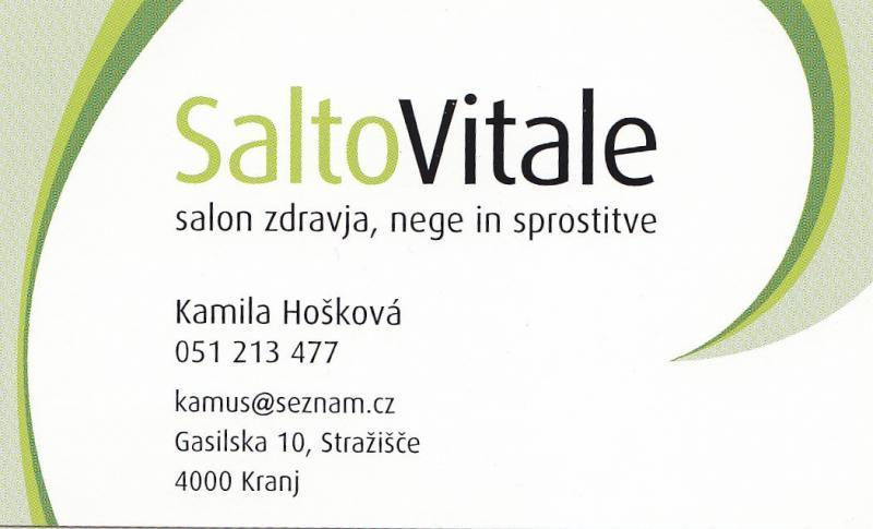 SaltoVitale, salon zdravja, nege in sprostitve
