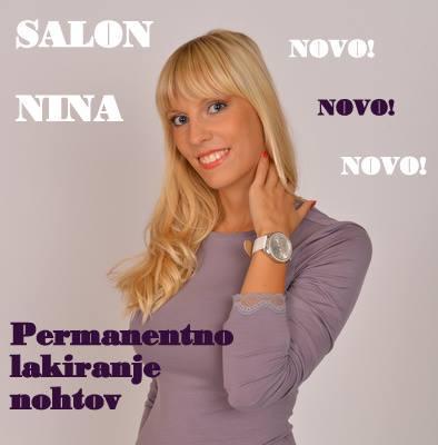 Salon Nina, frizerstvo in pedikura