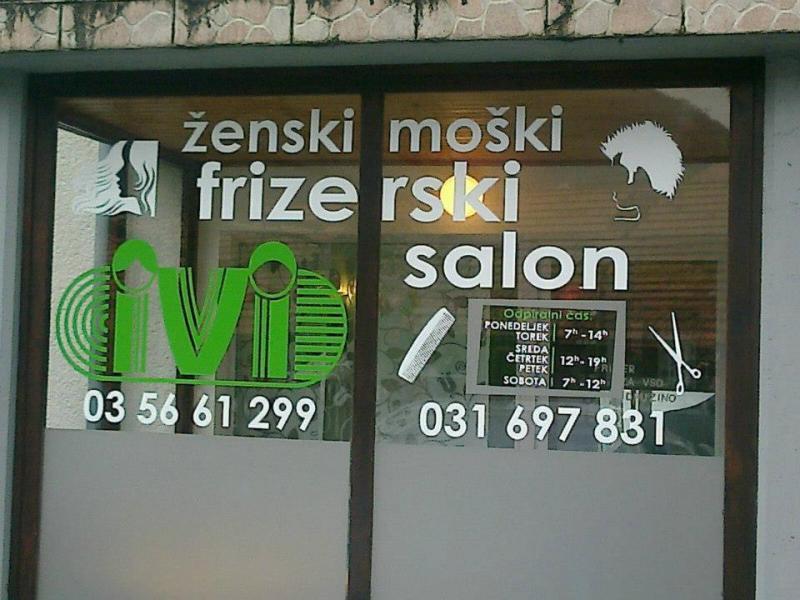 Ženski in moški frizerski salon Ivi
