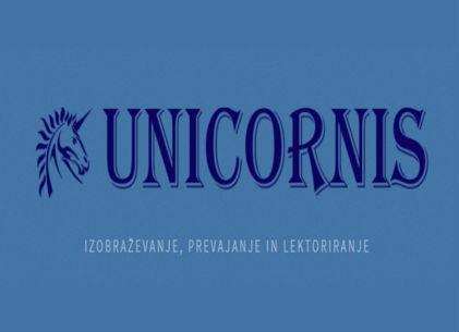 Unicornis, izobraževanje in prevajanje, Simona Beras s.p.