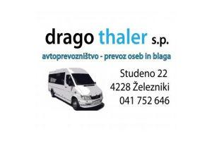 Avtoprevozništvo - prevoz oseb in blaga Drago Thaler s.p.