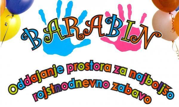 Barabin, oddajanje prostora za otroške zabave, Gašper Korošec s.p.