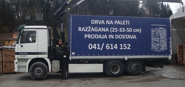 Dostava drv, peletov in briketov na dom, Romana Plevel s.p.