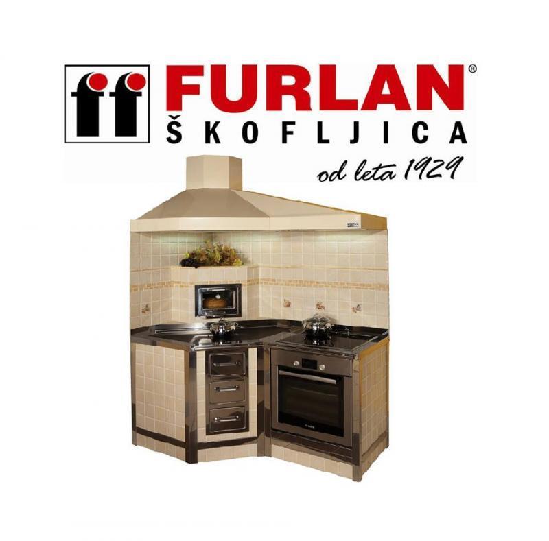 Furlan štedilniki, proizvodnja zidanih štedilnikov in kuhinjskih nap