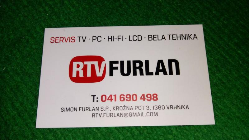 RTV Furlan, popravila elektronskih naprav, Simon Furlan s.p.