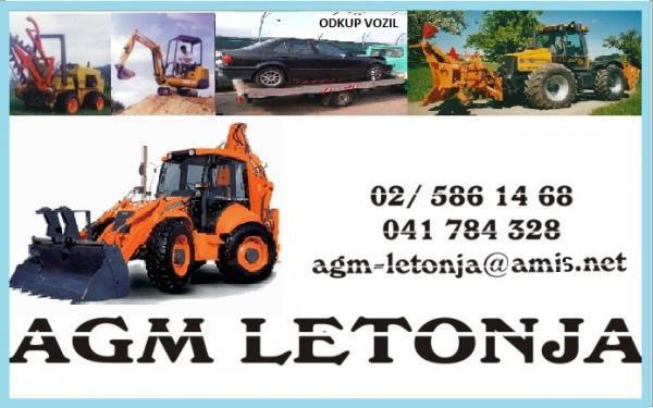 AGM Darko Letonja, avto odpad, gradbena mehanizacija