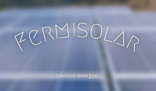 Fermisolar, čiščenje sončnih elektrarn, Dušanka Fermišek s.p.