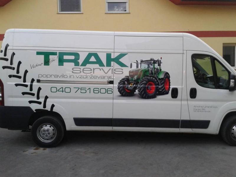 Trakservis, servis in popravilo vozil in strojev, Andrej Uranič s.p.