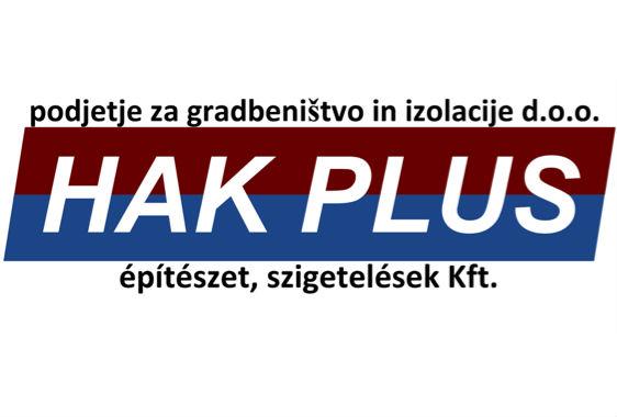 HAK Plus d.o.o., gradbeništvo in izolacije