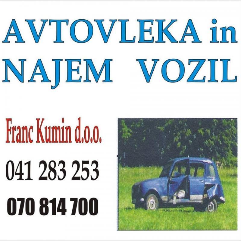 Avtovleka in najem vozil Franc Kumin d.o.o.