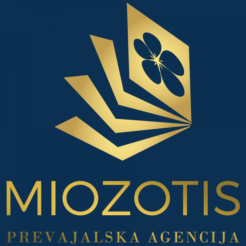 Miozotis, prevajanje, Glorija Laznik s.p.