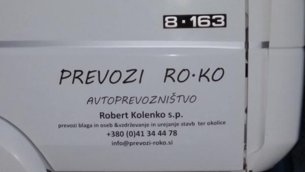 Avtoprevozništvo Robert Kolenko s.p.