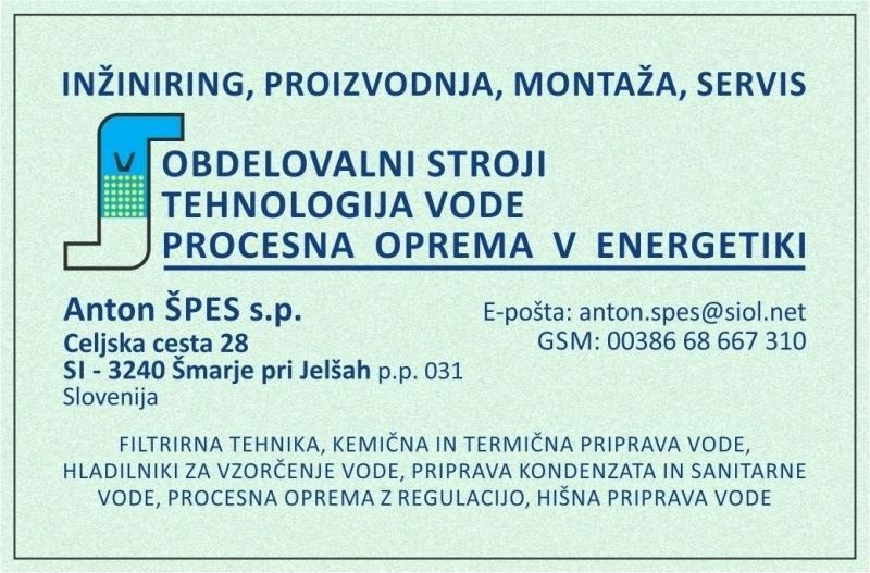 Montaža in servis obdelovalnih strojev, Anton Špes s.p.