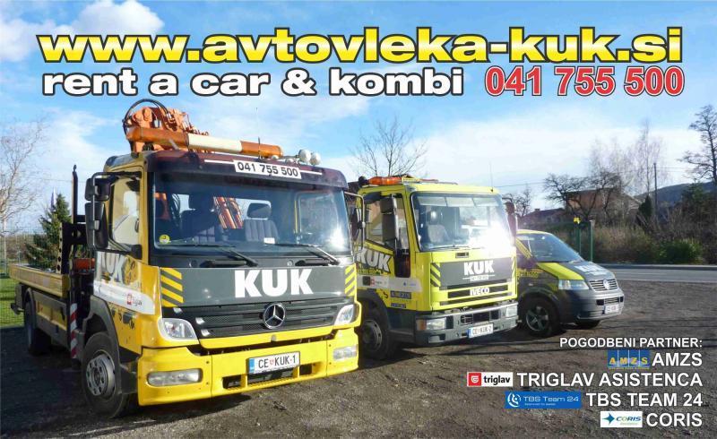 Avtovleka Kuk, pomoč na cesti in vleka vozil