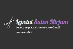 Lepotni salon Mirjam, Mirjam Poterbin s.p.