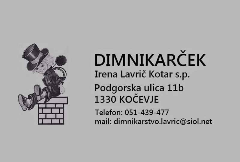 Dimnikarske storitve in čistilni servis Dimnikarček
