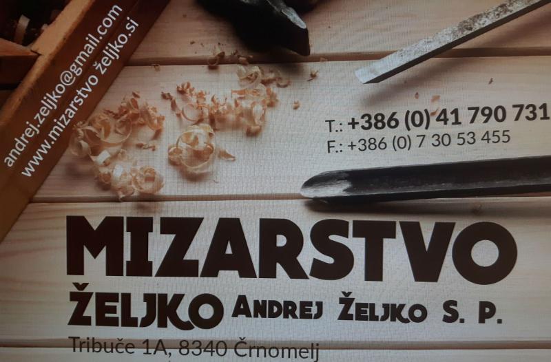 Mizarstvo Željko, Andrej Željko s.p.