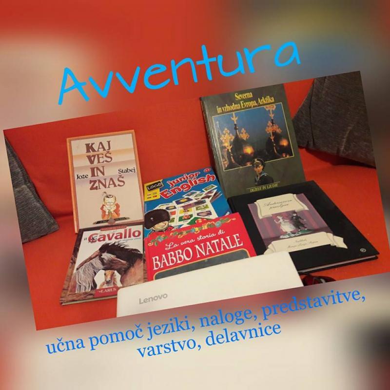 Avventura, učna pomoč in storitve, Alja Marčič s.p