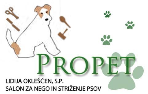 Pasji salon Propet, Lidija Okleščen, s.p.