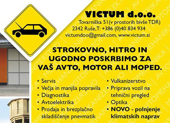 Victum d.o.o., servis vseh znamk motornih vozil