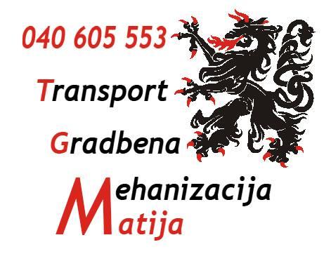 TGM izkopi, Matija Ambrožič s.p., gradbena mehanizacija in kiper prevozi