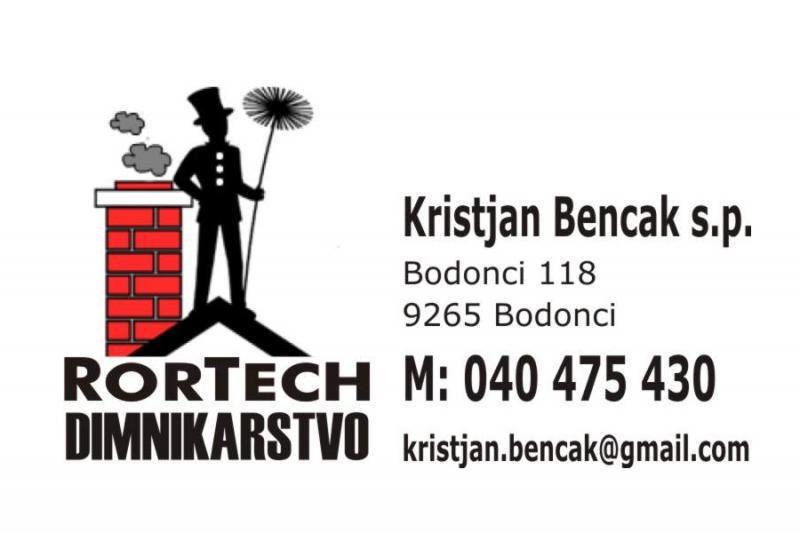 Rortech dimnikarstvo, Kristjan Bencak s.p.