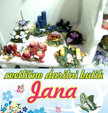 Cvetlično darilni butik Jana, Jana Jagodič s.p.