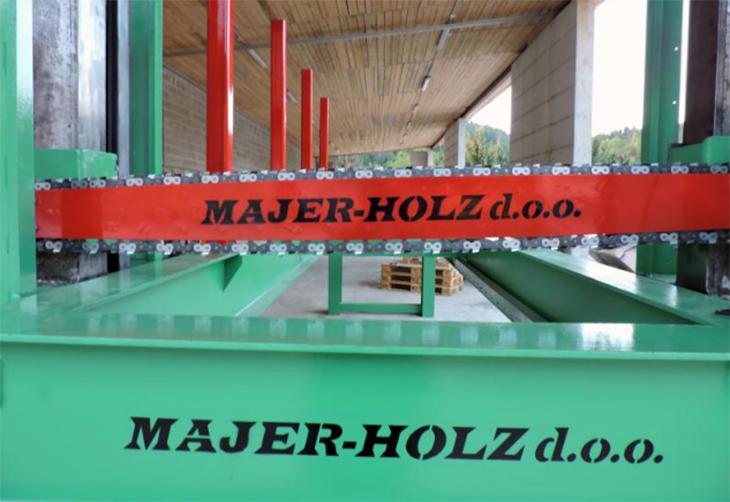 Majer-Holz, d.o.o., razrez lesa, transporni trakovi in paketne žage