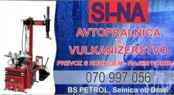 SI-NA, avtopralnica in vulkanizerstvo, Ferdinand Škrabl s.p.