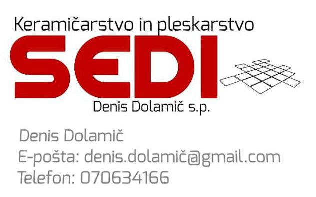 Sedi, keramičarstvo in pleskarstvo, Denis Dolamič s.p.