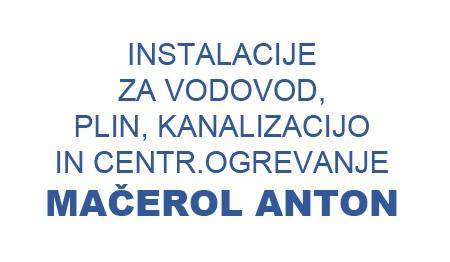 STROJNE INŠTALACIJE MAČEROL Anton Mačerol s.p.