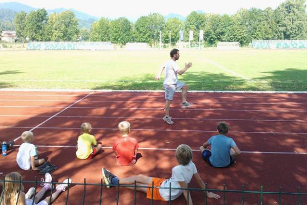 Profesionalni trener atletike Robert Bogožalec