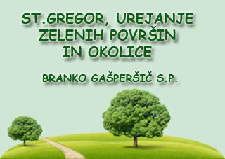 Urejanje zelenih površin in obrezovanje sadnega drevja, Branko Gašperšič s.