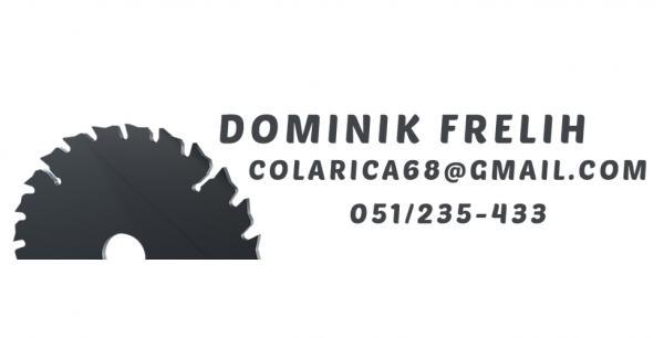 Colarica, izdelava pohištva po meri, Dominik Frelih s.p.