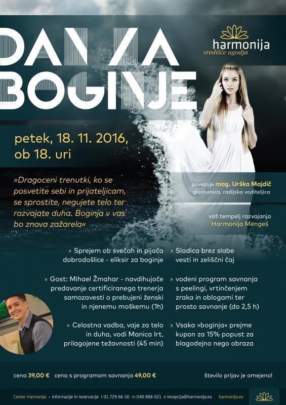 Dan za boginje v Harmoniji Mengeš