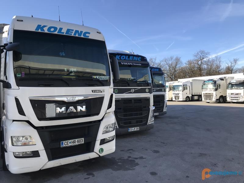 Transport Kolenc