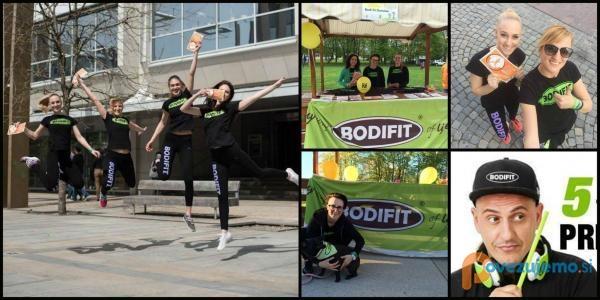 Bodifit program, individualne in vodene vadbe