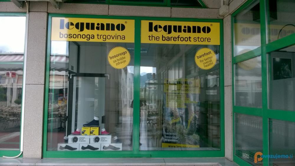 Leguano bosonogi - barefoot čevlji