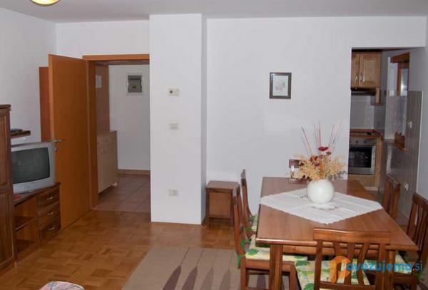 Apartmaji Rombon
